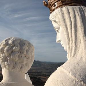 Détail remarquable sur le profil de la Vierge